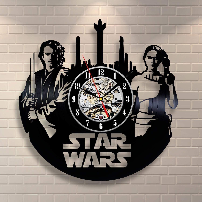 Star Wars Retro Vinyl Wall Clock