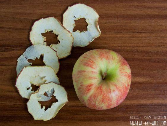 Apfelchips selber machen #Äpfelverwerten