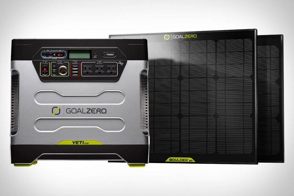 Goal Zero Yeti Solar Generator Solar Generator Portable Solar Generator Power Generator