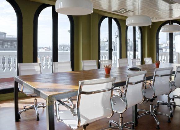 Despacho de abogados ecija salas de reuniones oficinas Despachos de diseno de interiores df