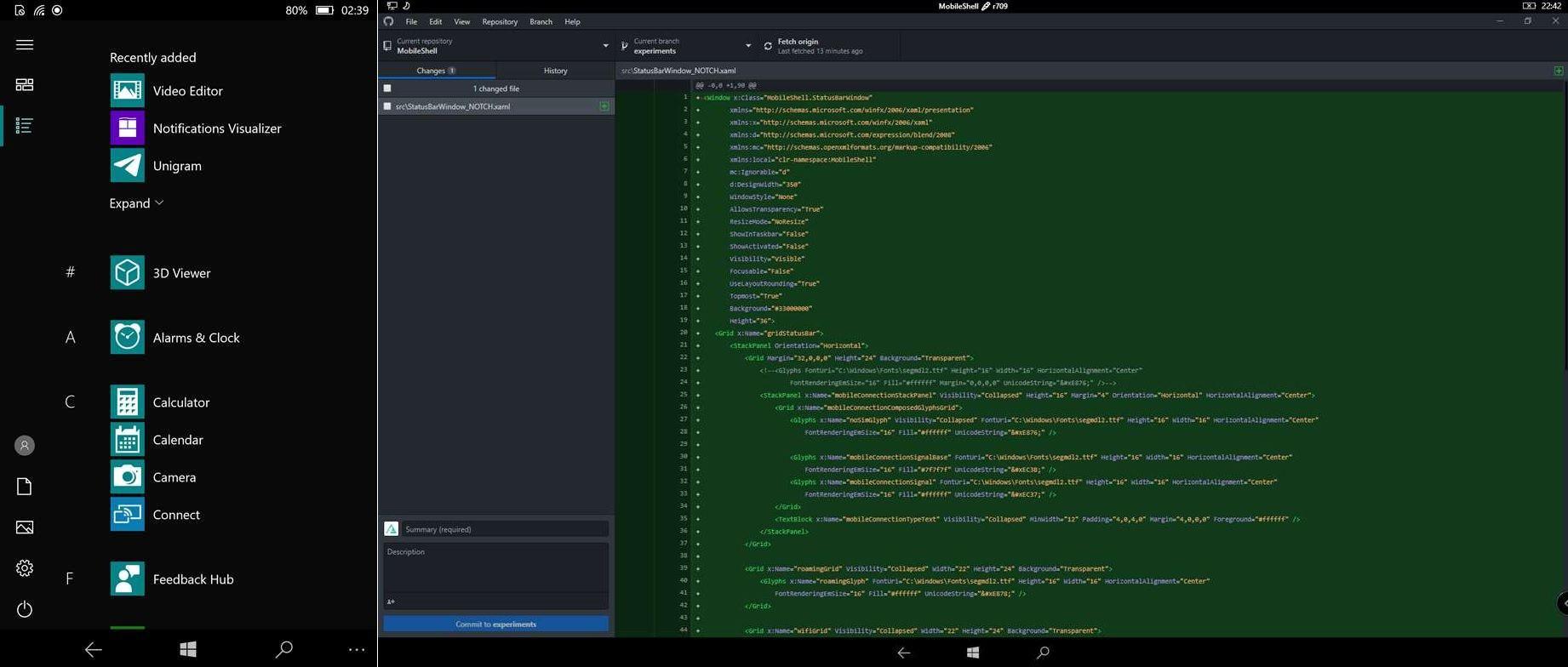 . Windows 10 for ARM MobileShell App Arrives on the