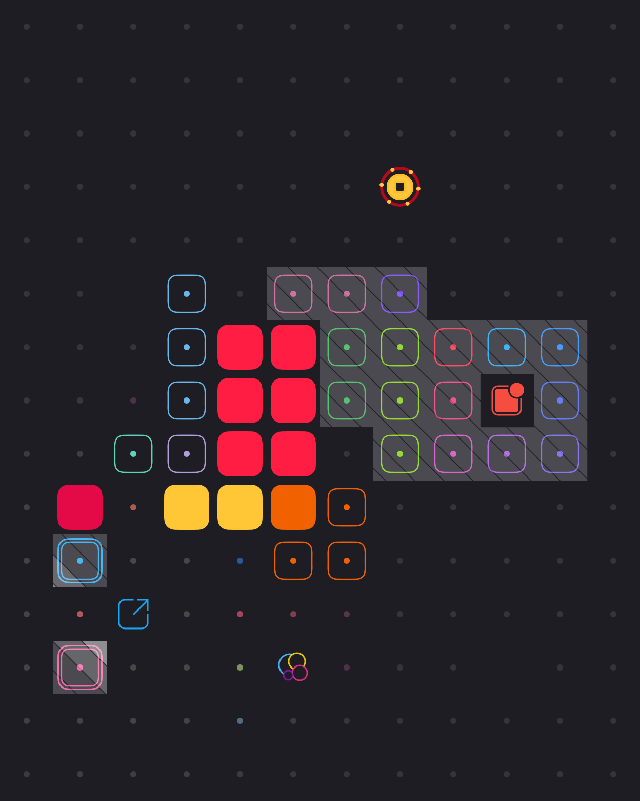 Play Blackbox for free at the App Store. It's a fun think