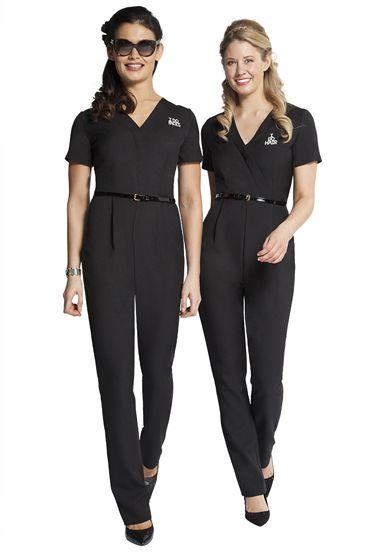 Florence roby beauty uniforms beauty tunics salon wear for Uniform spa italy