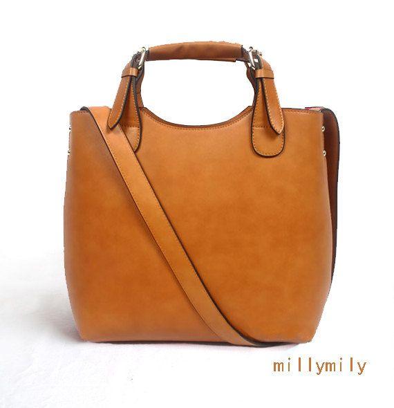 Macbook Bag Women Handmade Leather Tote Por Millymily 70 00