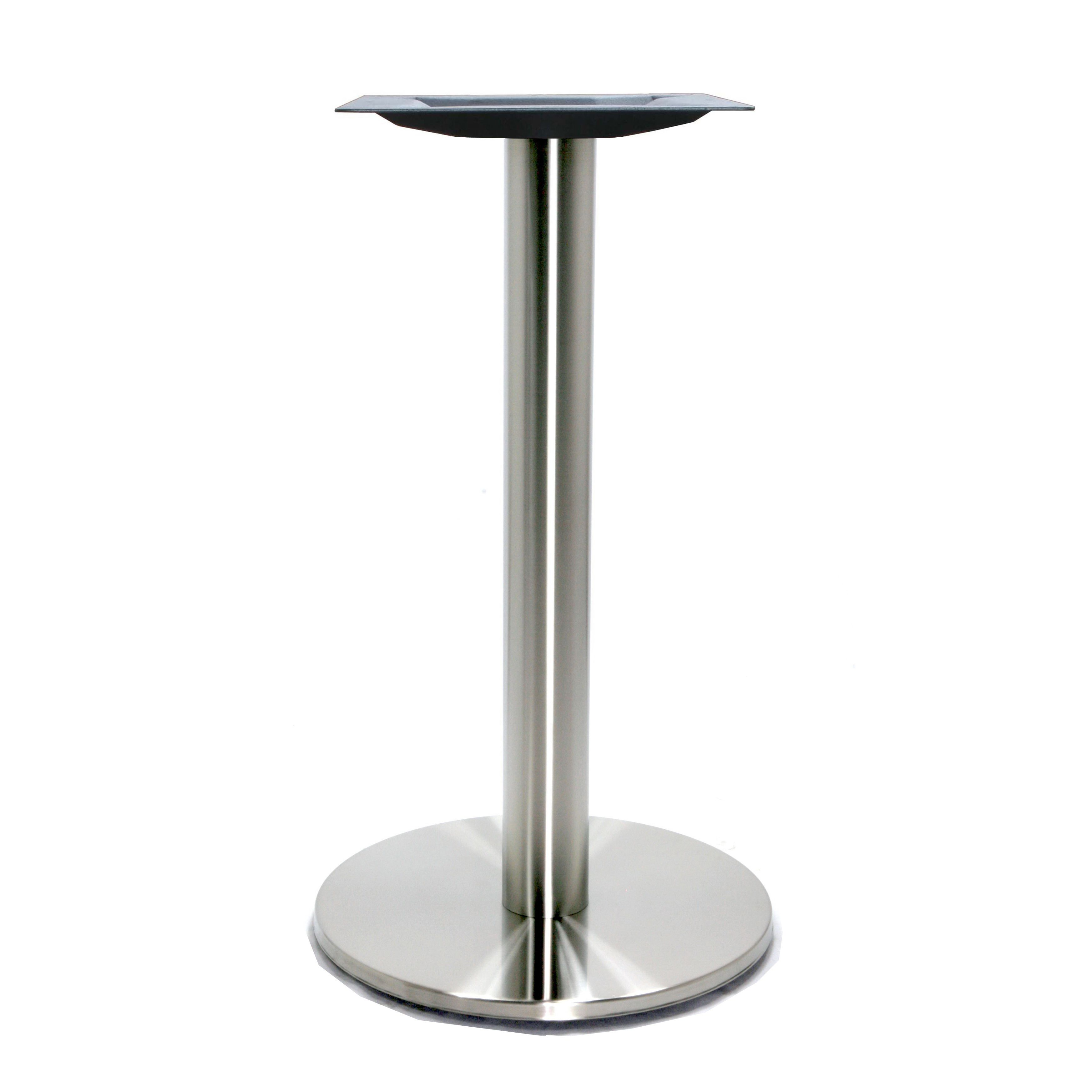 17 Inch Round Stainless Steel Table Base Steel Table Steel Table Base Stainless Steel Table