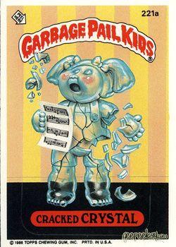 Garbage Pail Kids Original Series 6 Garbage Pail Kids Garbage Pail Kids Cards Pail