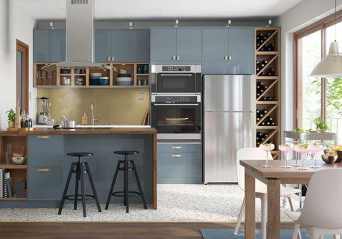 Cuisine Ikea Les Plus Beaux Modeles Du Geant Suedois Elle Decoration Cuisine Ikea Cuisine Appartement Et Cuisine Ikea Noire