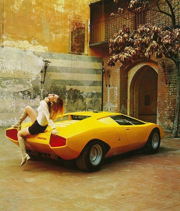 Lamborghini Countach Canvas 16x20 Wall Art Man Cave Lambo Sports Car Iconic 80's