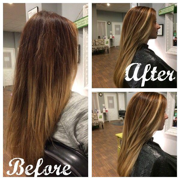 Olaplex Balayage Color By Kim Newby At Goodlookin Salon Cedar Falls Ia Balayage Color Long Hair Styles Balayage