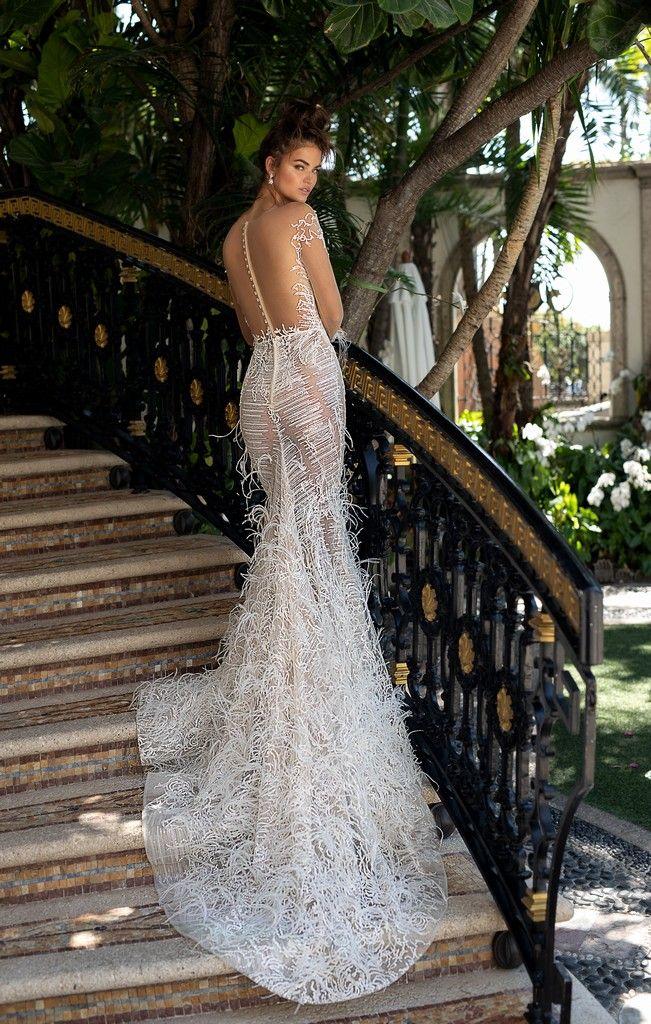 Berta Miami Spring Summer 2019 lusso e scintillio per abiti da sposa ...