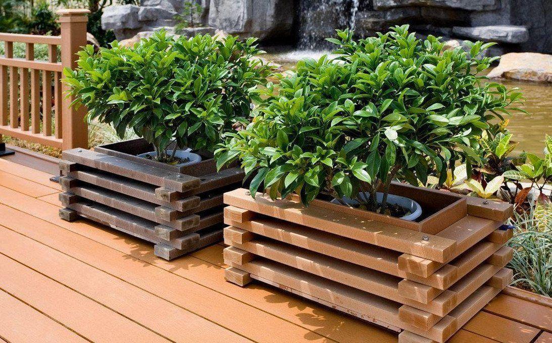 Garden Decor 45 Best Garden Design Ideas Wooden Garden Planters Garden Planter Boxes Wooden Crates Garden