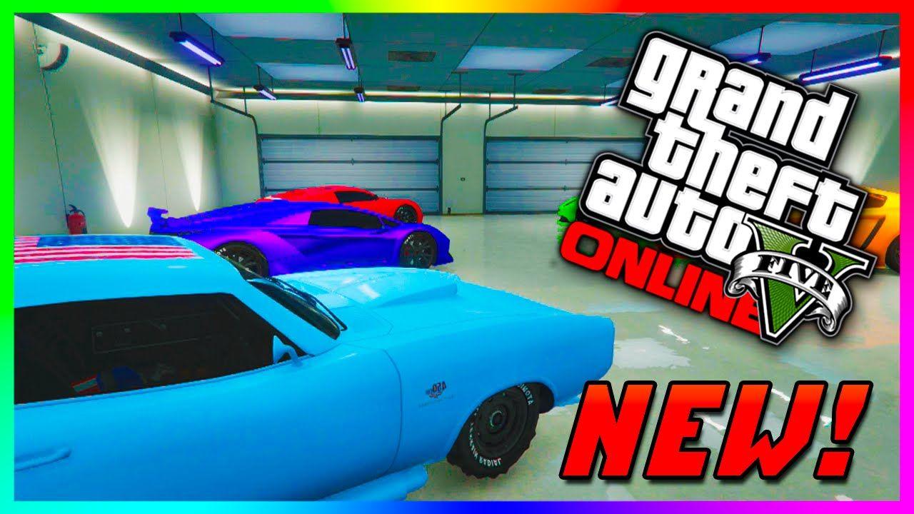 GTA 5 Online PS4 Garage Tour - Super, Sports & RARE Cars! GTA 5 ...