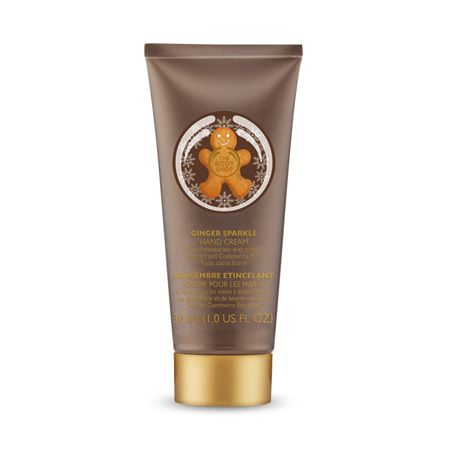 Ginger Sparkle Hand Cream Hand Cream The Body Shop Moisturizer