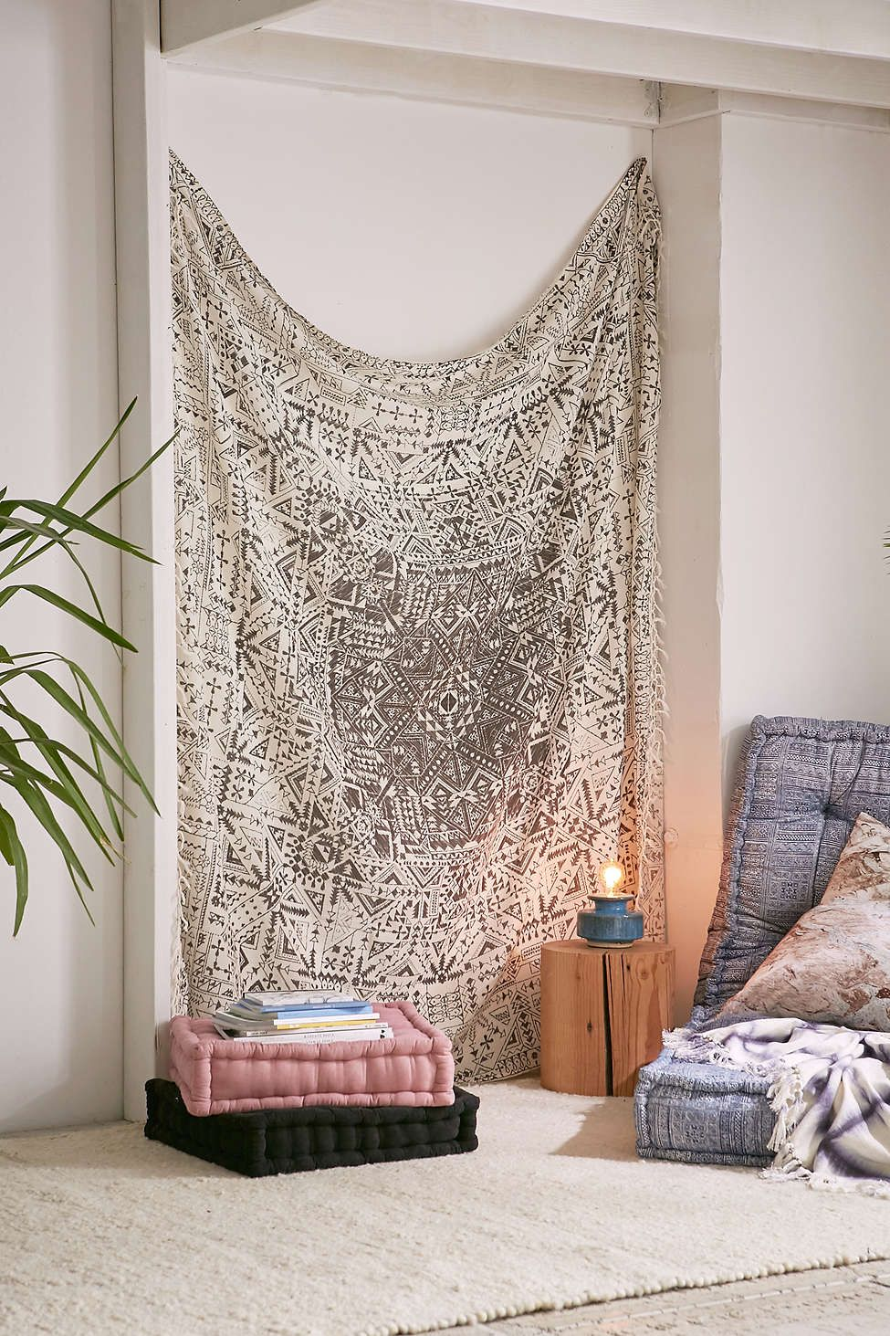 Magical Thinking Izmir Maze Fringe Tapestry Tapestry