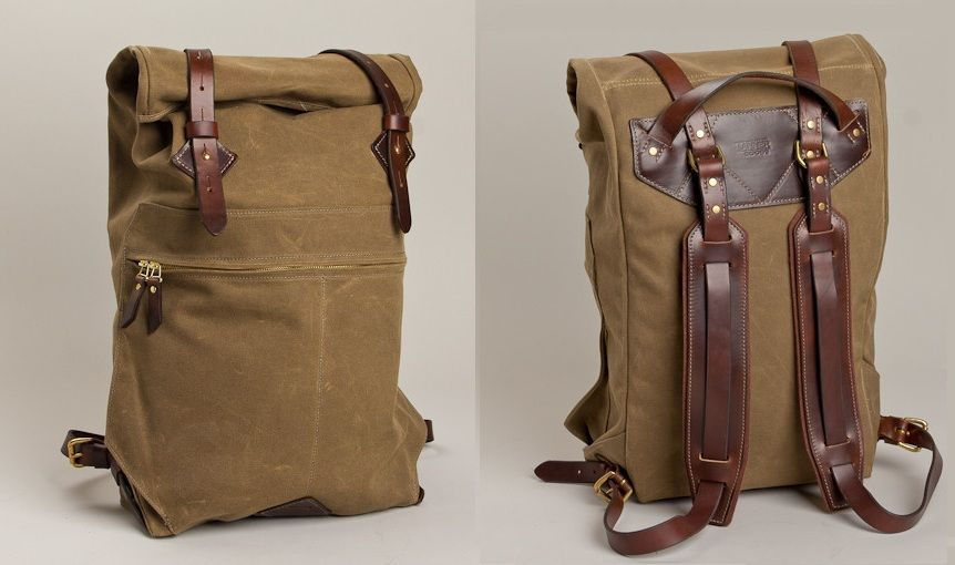 cb4027aa5eb tanner goods rucksack Saw this at PUF NYC, beautiful details and quality