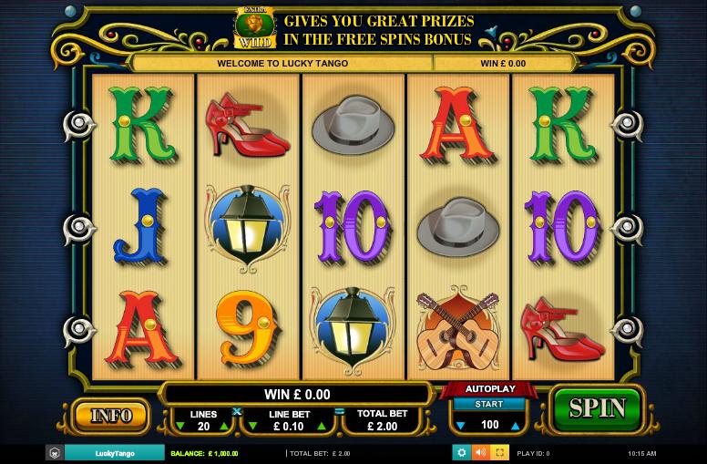 Lucky Tango Slot Machine