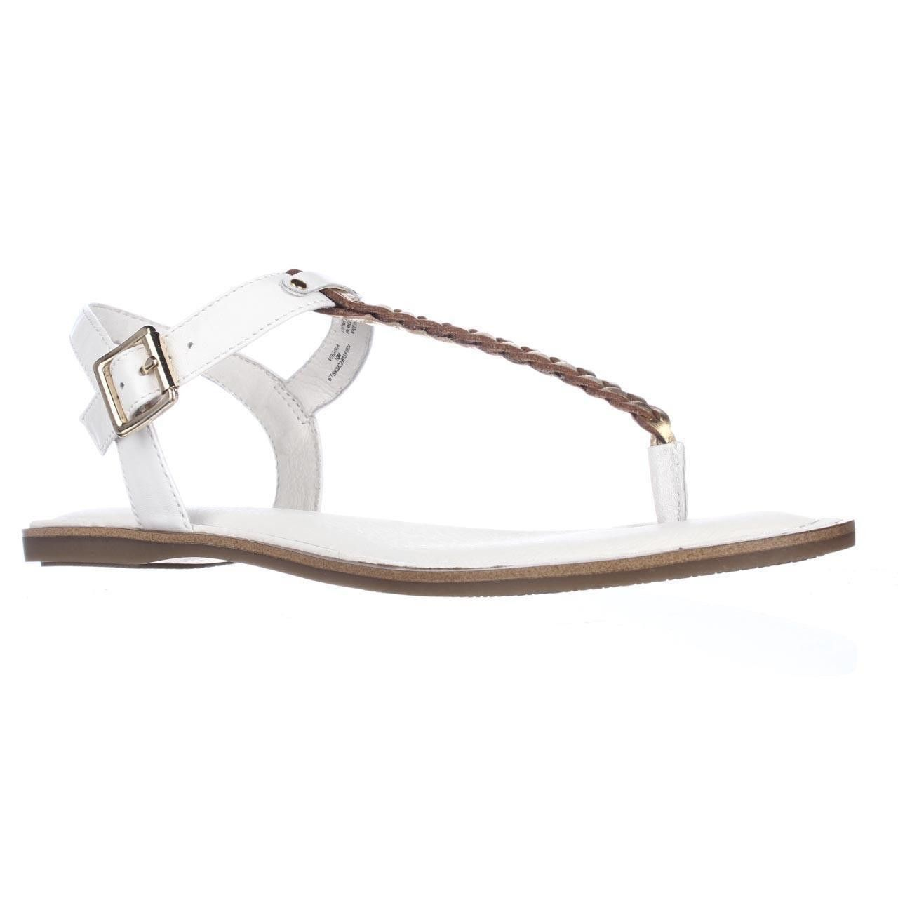Sperry Top-Sider Virginia T-Strap Ankle Strap Sandals - White