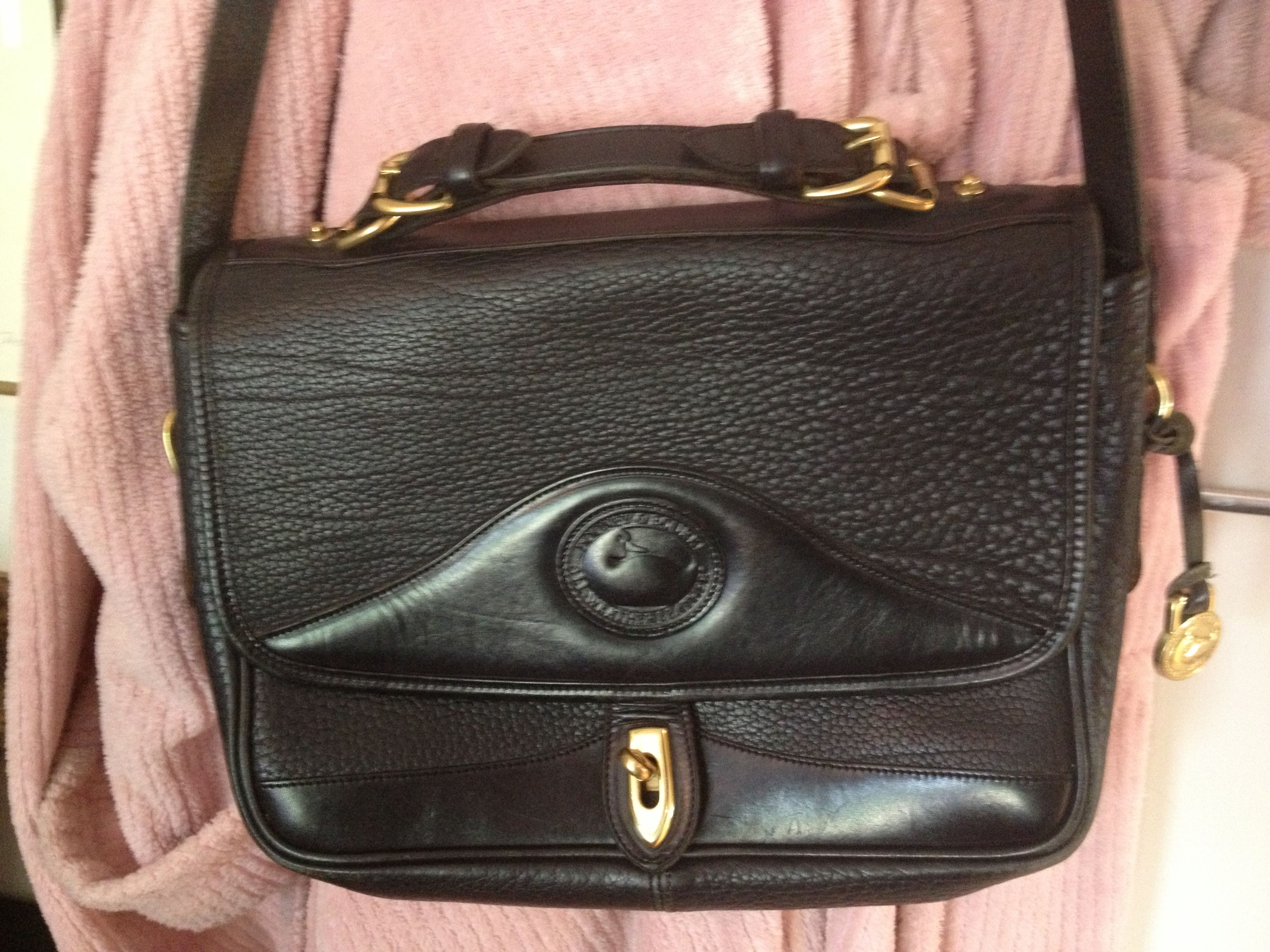 AUTH DOONEY SATCHEL LAPTOP BAG OVERBODY OR HANDLE  SALE 65.00 SHALL02@HOTMAIL.COM