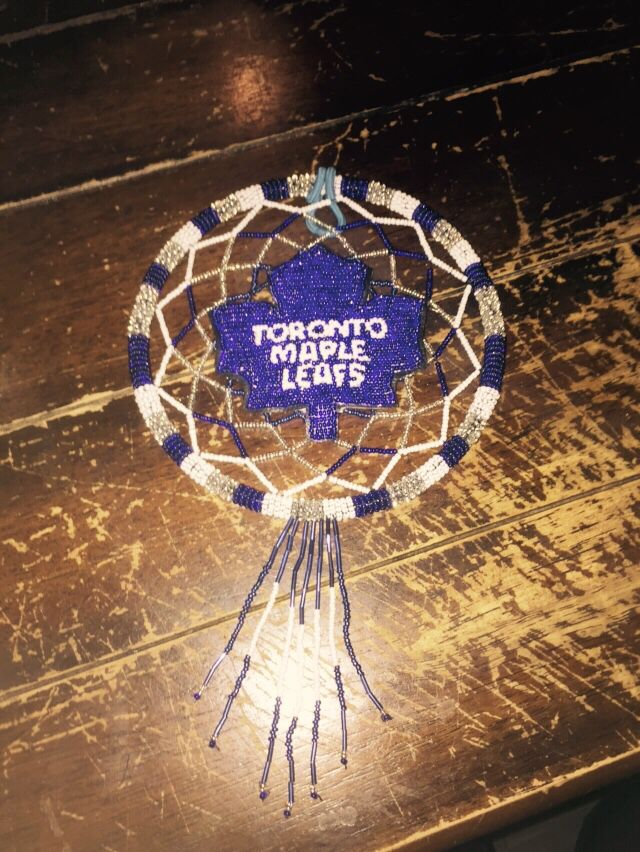 Toronto Maple Leafs Handmade Dreamcatchers Pinterest Toronto Gorgeous Dream Catcher Toronto