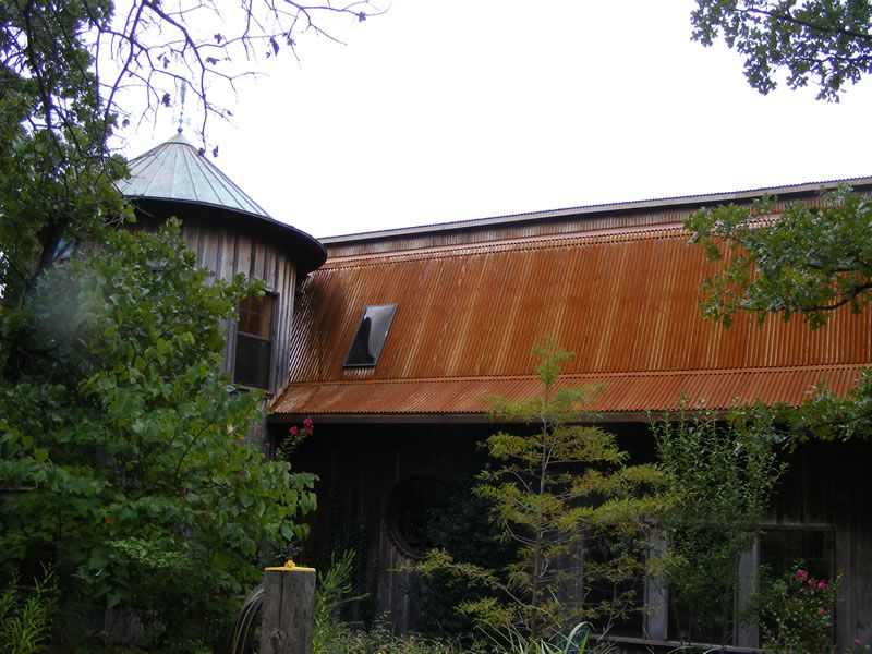 Best Corten Roofing Photo Gallery Rusty Roofing Pictures Corrugated Roofing Metal Roof Colors 640 x 480