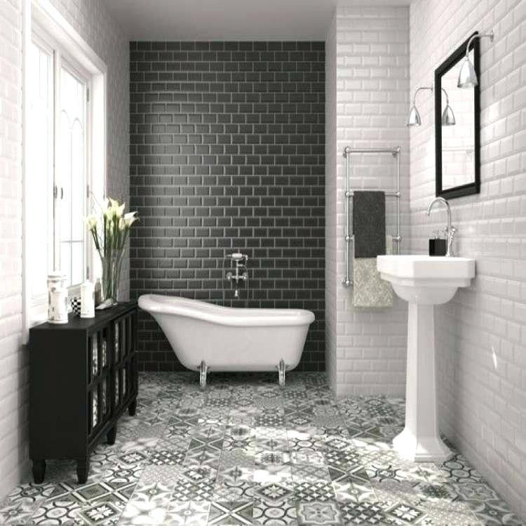 Simply Black And White Tile Bathroom Decor Ideas Beautiful Bathroom Decor Bathroom Decorating Trends White Bathroom Tiles