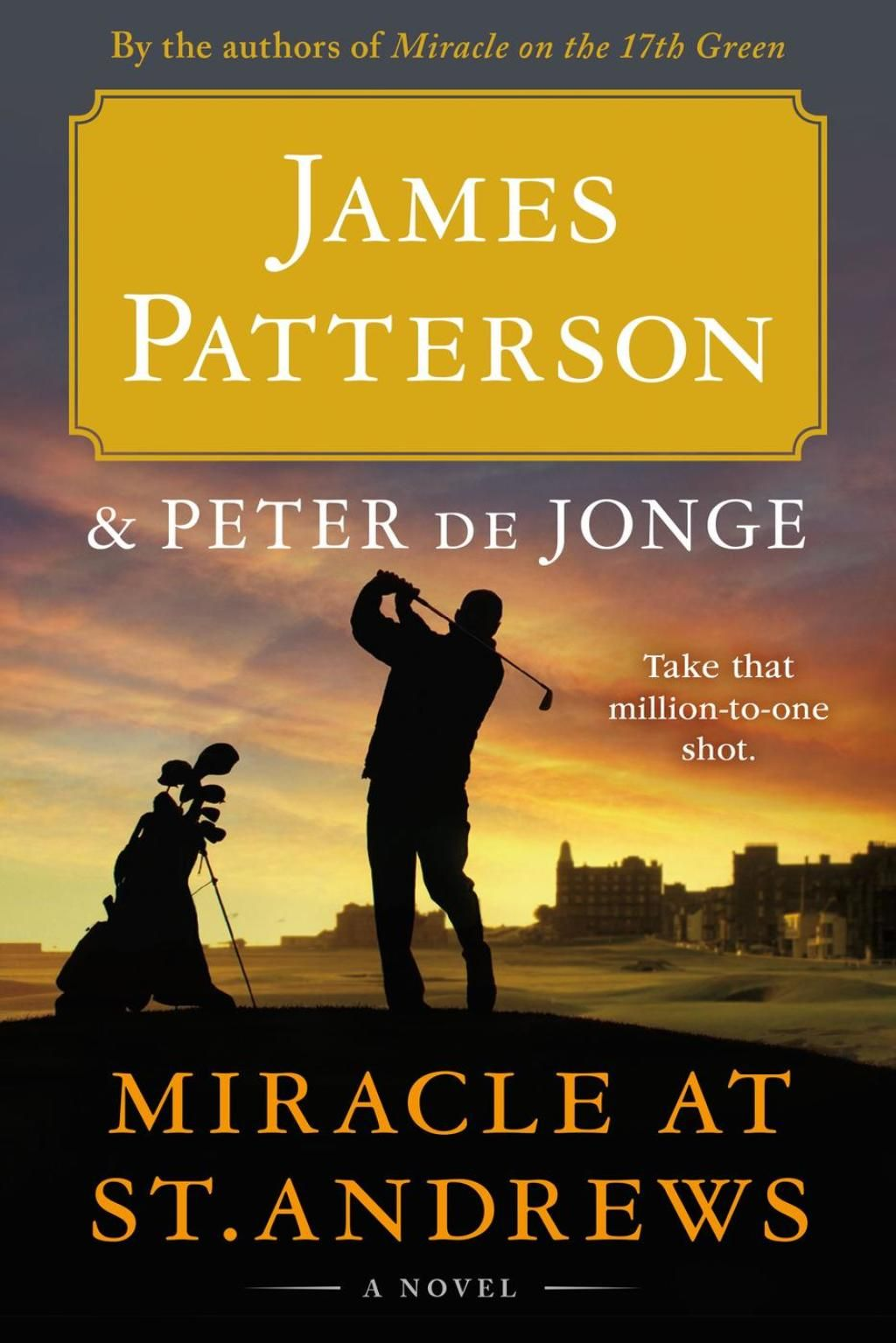 Miracle at St. Andrews (eBook) James patterson, Novels