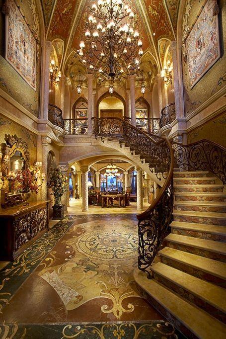 Kardashian House Foyer : Kim kardashian kanye west foyers and luxury
