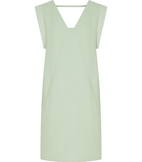 reiss | pepper frill back dress