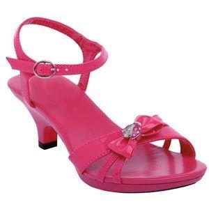Girls High Heels Hot Pink Girls High Heels Kid Shoes Girls High Heel Shoes