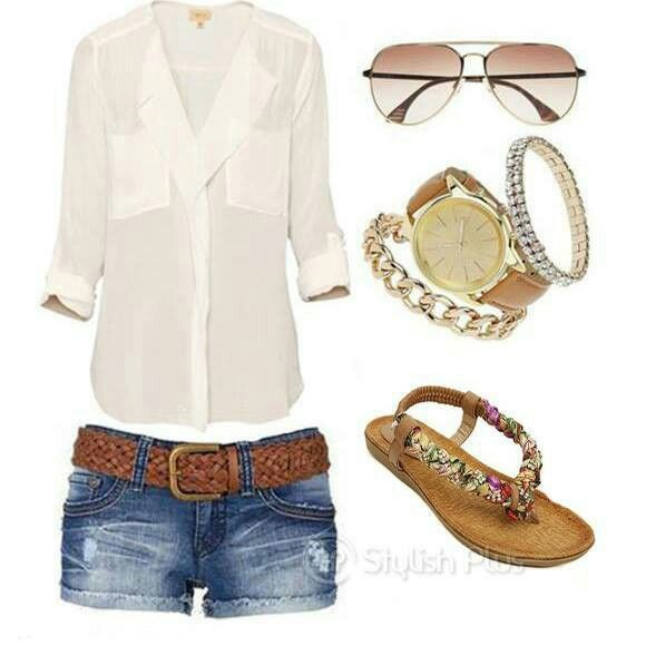Summer Outfit (change the shoes)