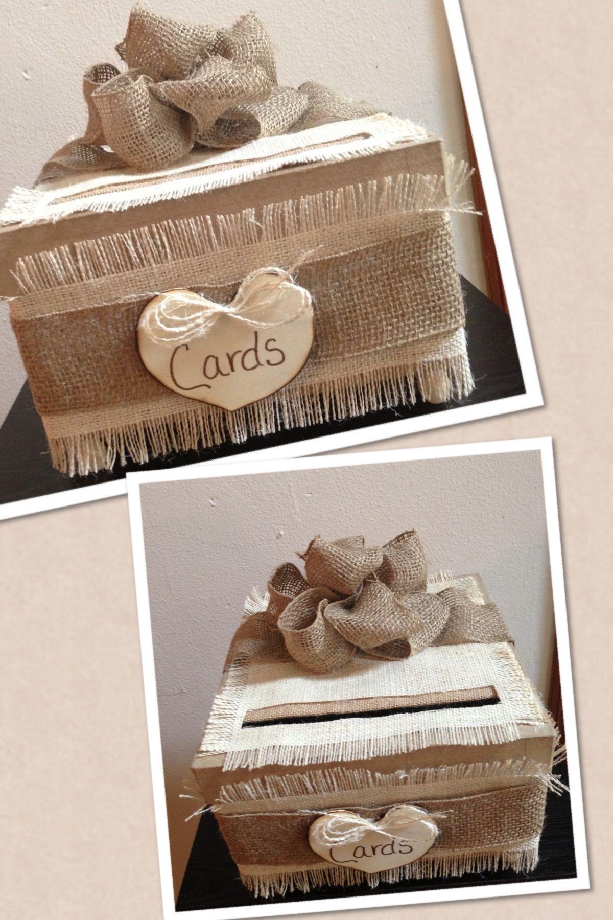 Diy gift card box card box wedding diy card box wedding