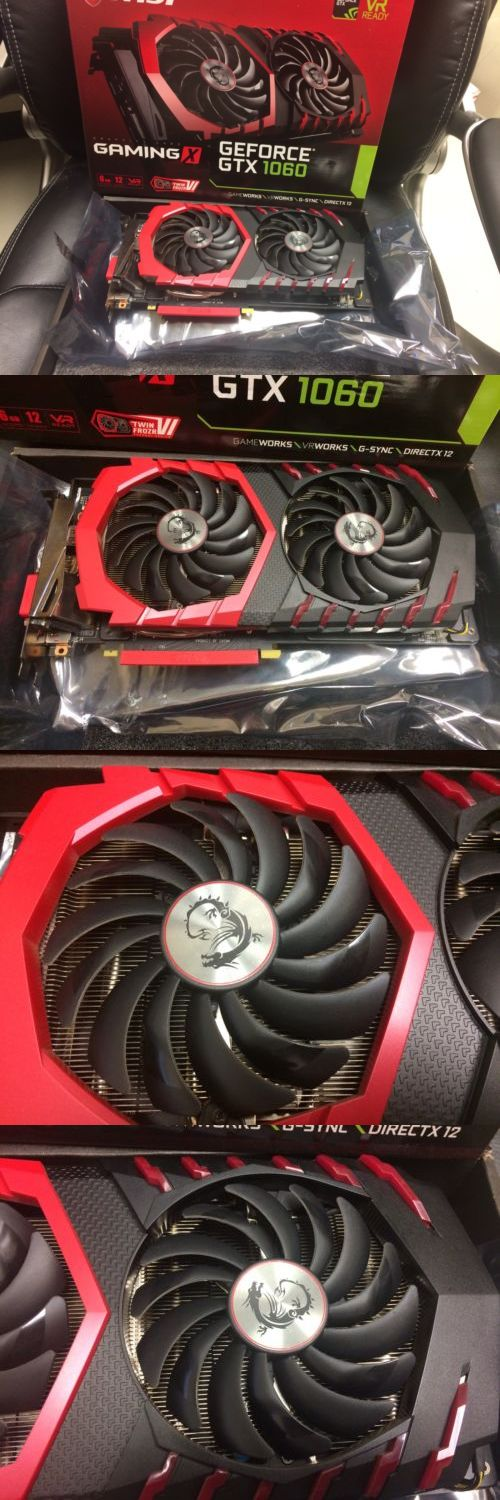 Graphics Video Cards 27386: Msi Gaming Geforce Gtx 1060 6Gb
