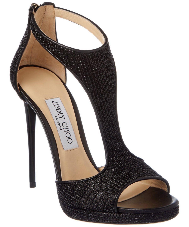 8dd4a399eed6 JIMMY CHOO Jimmy Choo Lana 120 Chain Fabric T-Bar Sandal .  jimmychoo  shoes   sandals