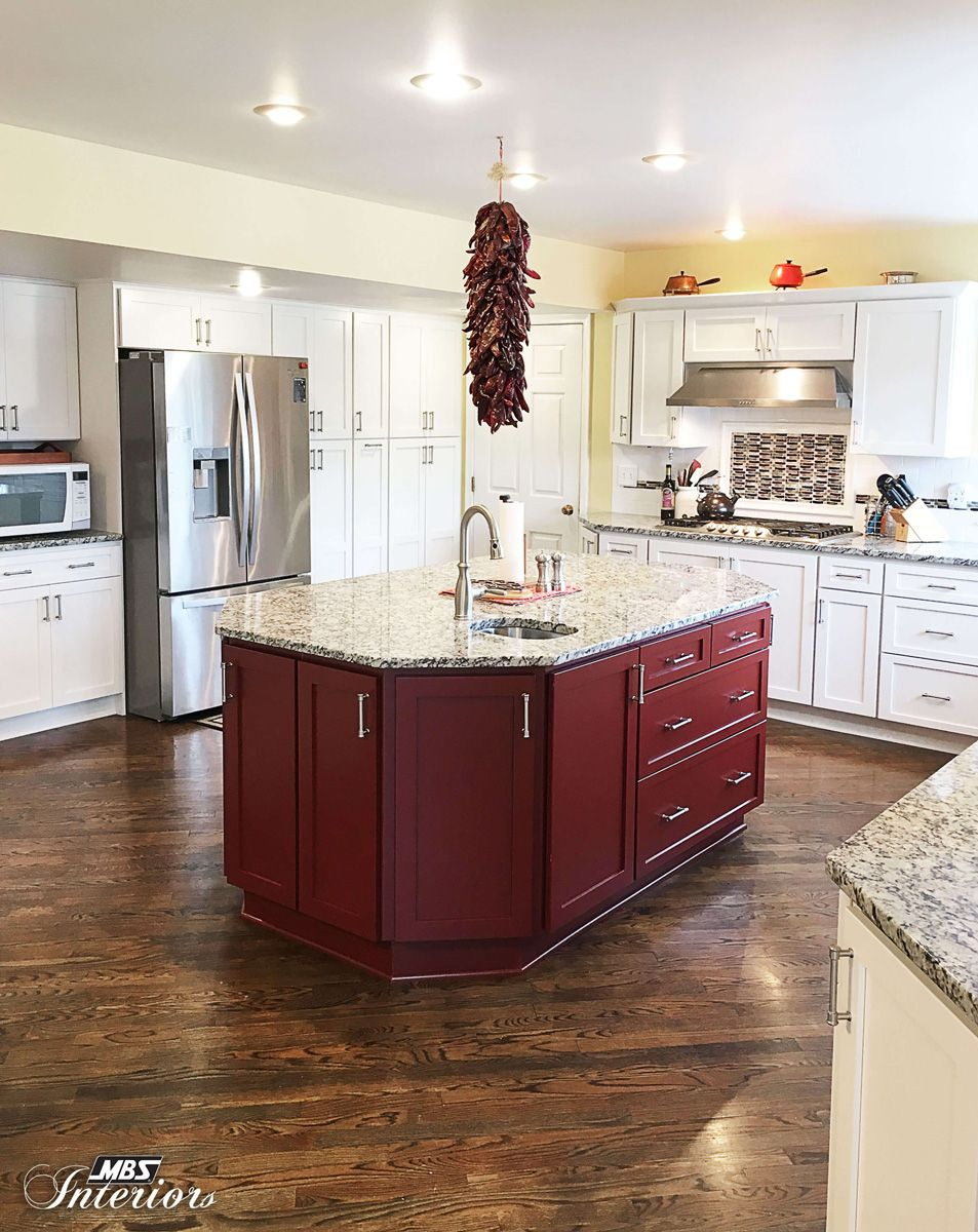 A Kitchen Remodel In Lansing, Michigan Was Designed With The Bridgeport  Door Style In Maple
