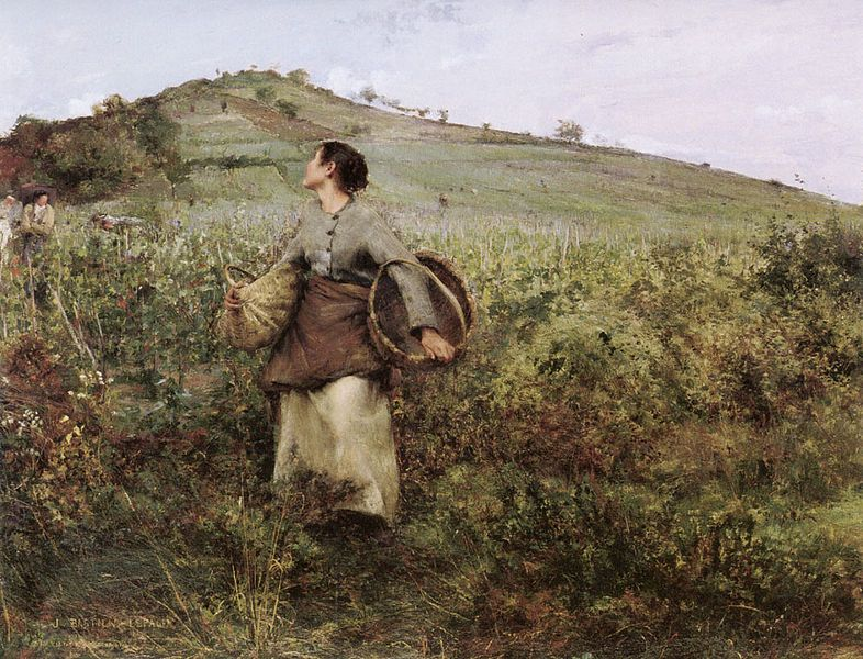 """""""At Harvest Time"""" - Jules Bastien-Lepage"""
