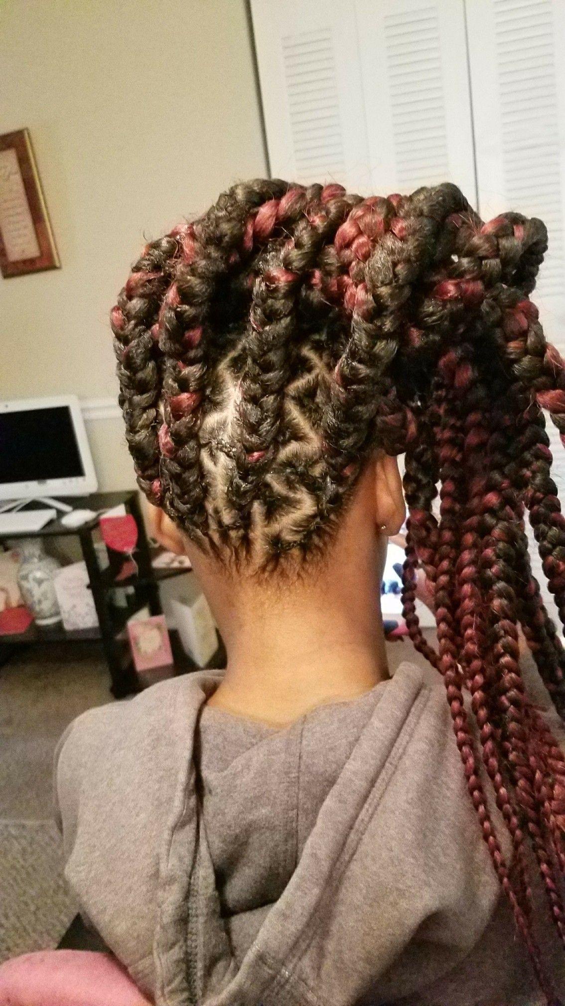 3 19 18 Finished my goddaughter Jazmyne s hair team natural