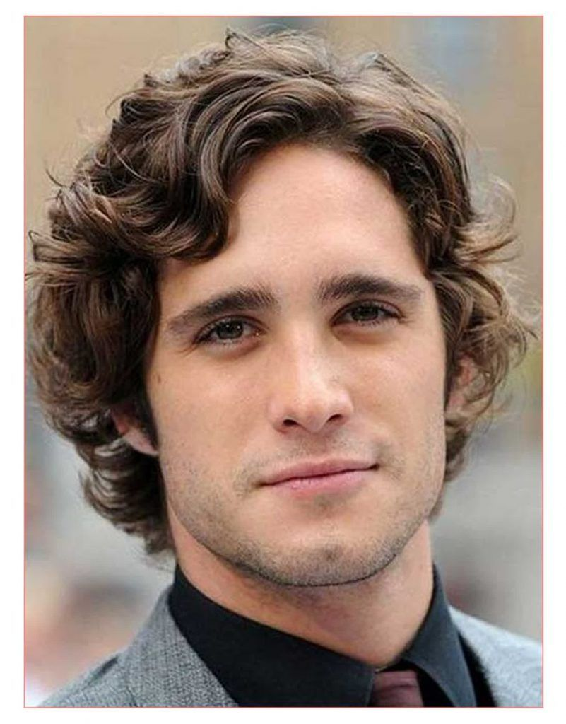 Mens medium hairstyle names and Curly Hairstyles for Medium Hair Men ...
