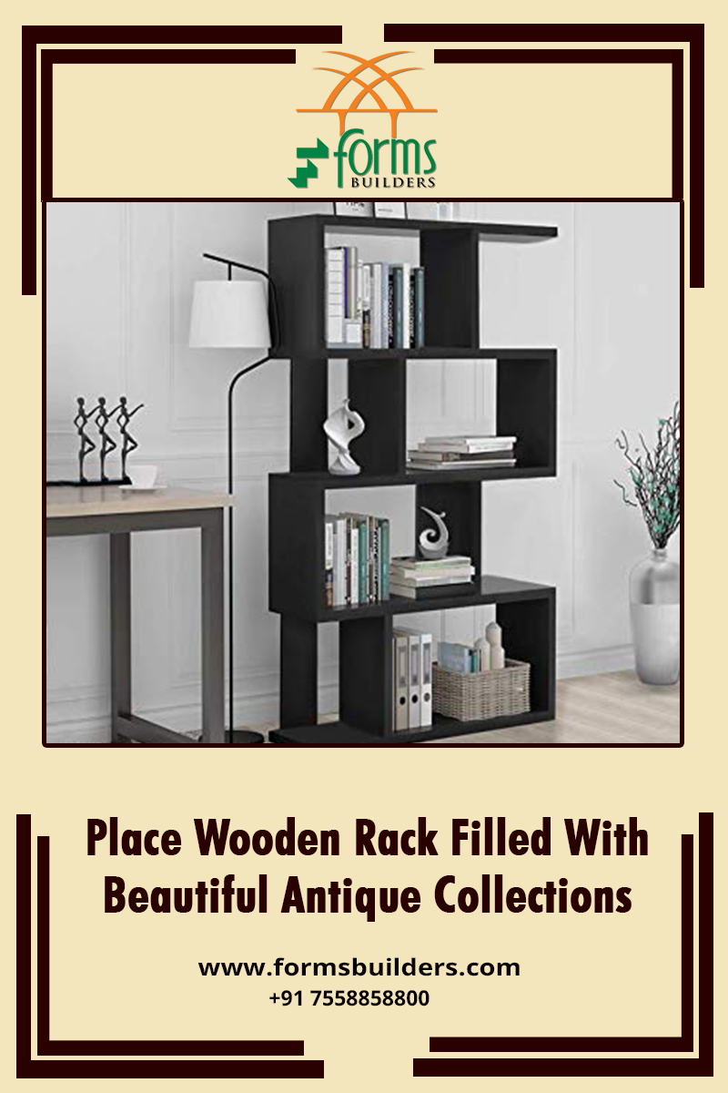 Place Wooden Rack Filled With Beautiful Antique Collections Forms Builders St Mary S Square Nellikunnu Thriss Wooden Rack Form Builder All Modern