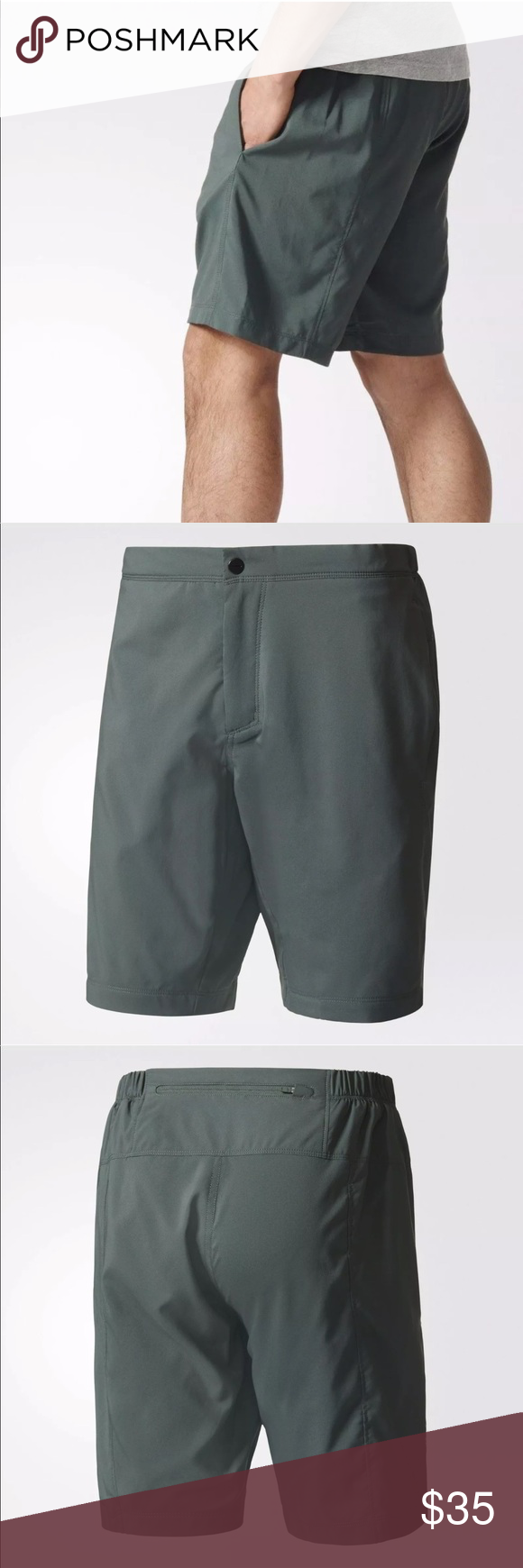 becf8b387b3 Men s Adidas Outdoor Terrex Mountain Fly Shorts MEN S ADIDAS TERREX  MOUNTAIN FLY SHORTS NEW AUTHENTIC MEN S