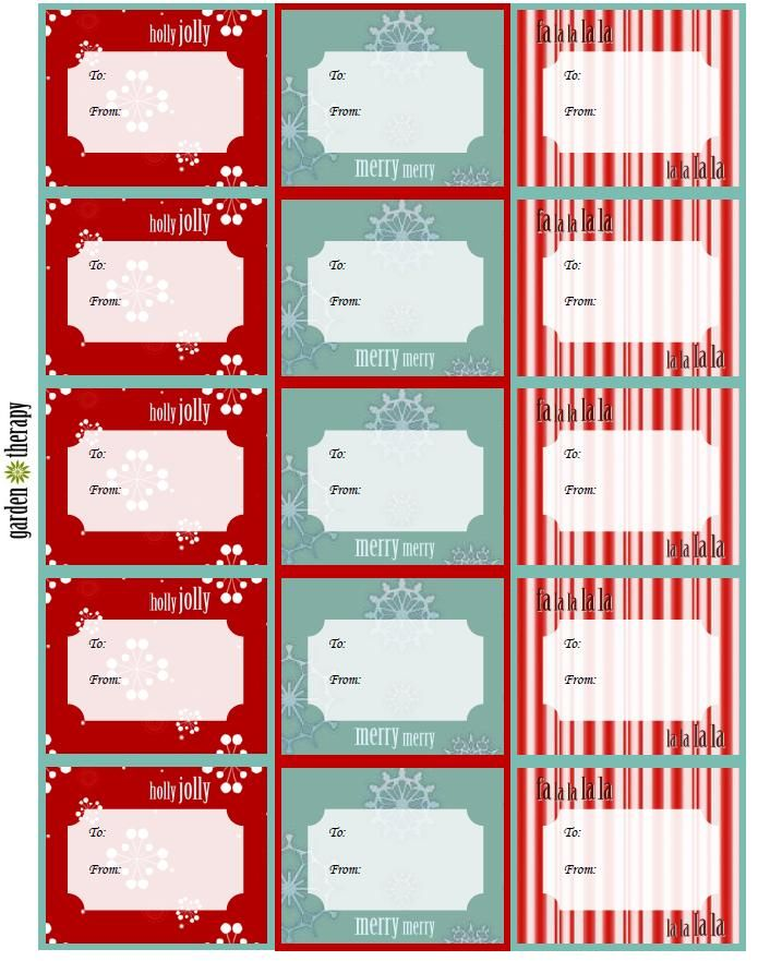 Last minute holiday gifts countdown day 7 free printable gift free printable gift tags and canning labels last minute gift idea negle Choice Image