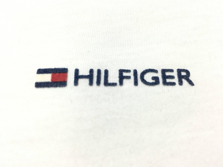 Vintage Tommy Hilfiger shirt spell out hilfiger flag logo Size M by AlivevintageShop on Etsy