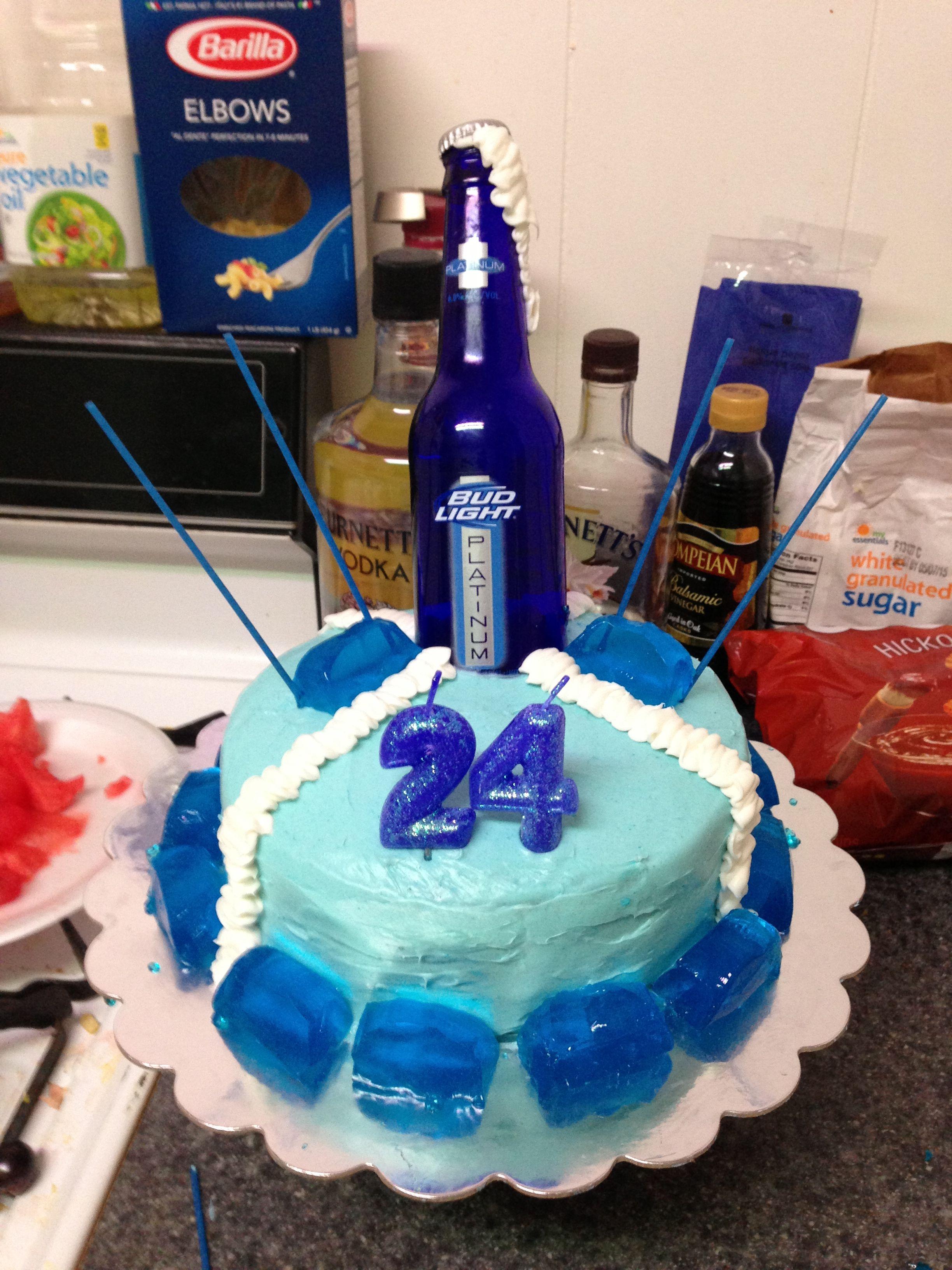 My Boyfriends Birthday Cake