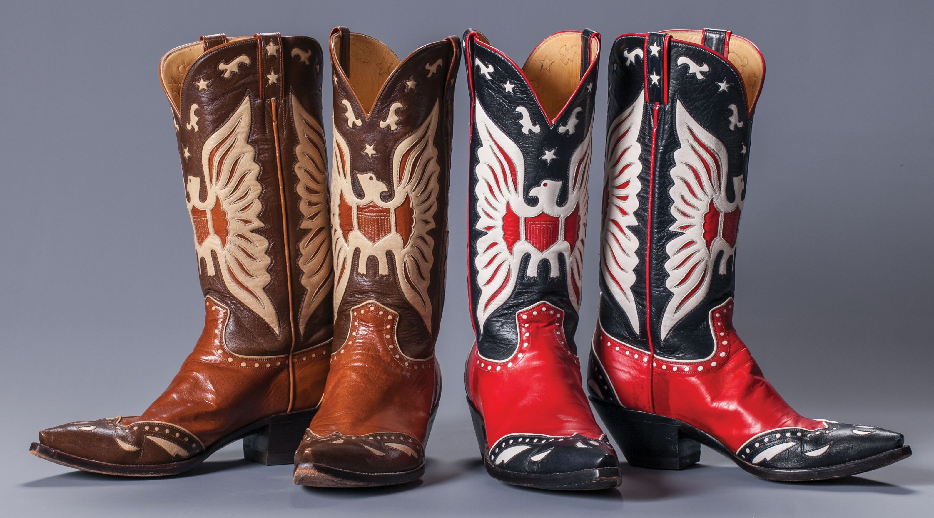 148065082a3 Snuff's Personal Roy Roger's Style Boots Custom made eagle boots ...