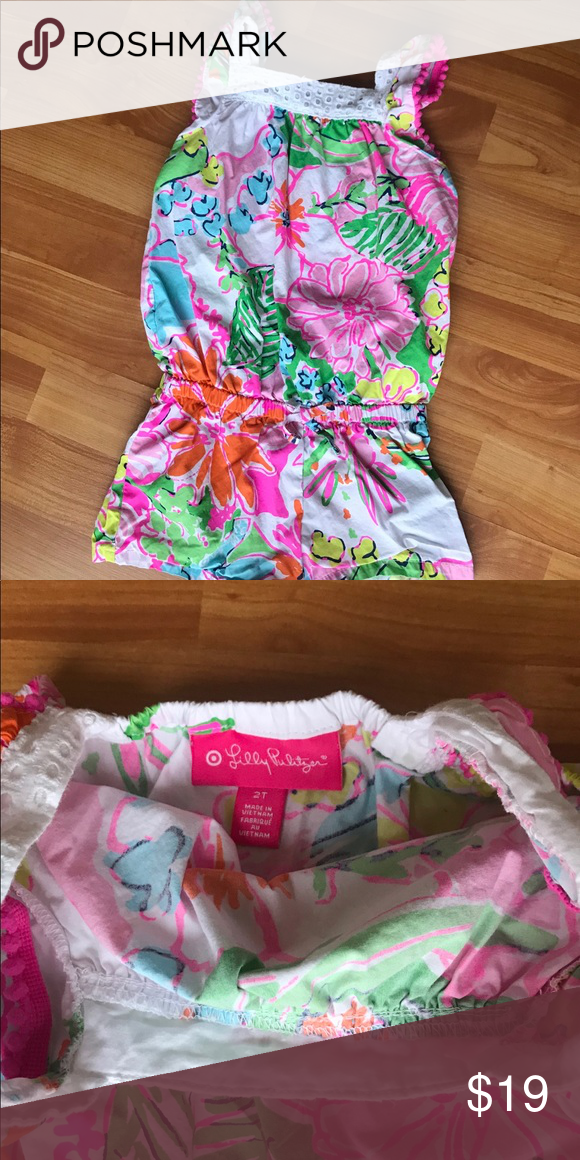 903eff893267 Lilly Pulitzer for target romper size 2T in 2018