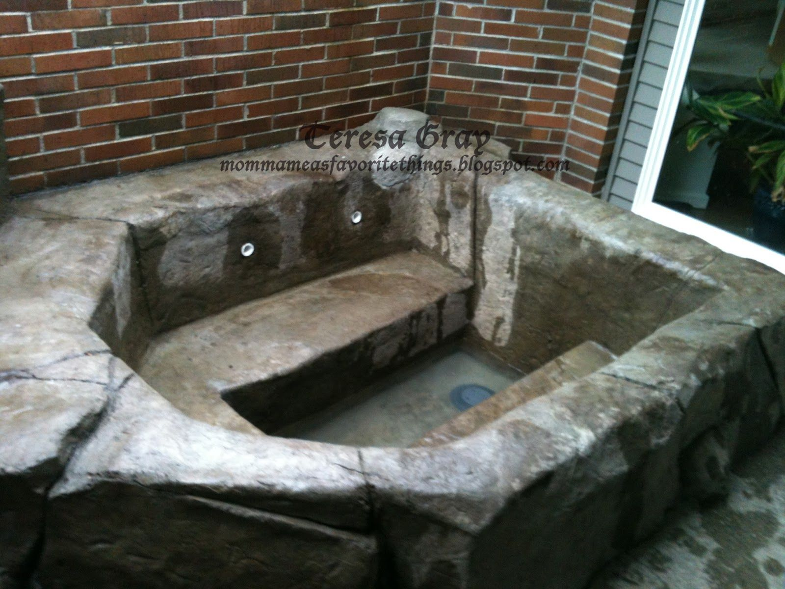 Image Result For Build Your Own Stone Hot Tub Swimming Pools