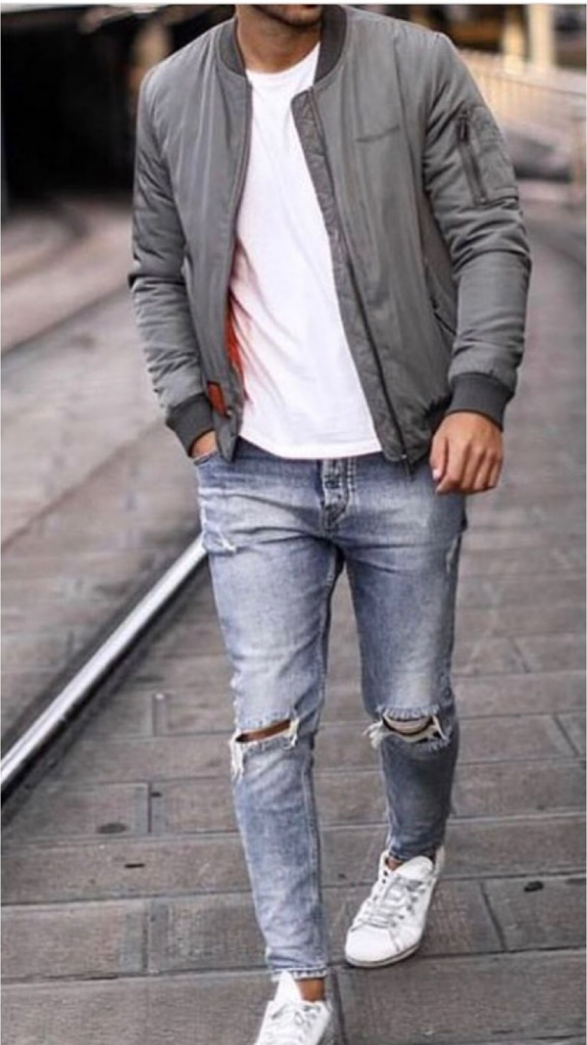 How To Style A Bomber Jacket Bomber Jacket Outfit Mens