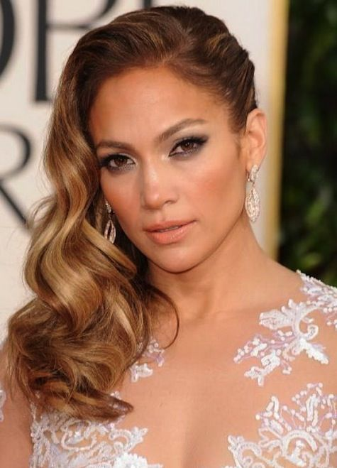 Jennifer Lopez All One Sided Hairstyles for Prom - Jennifer Lopez All One Sided Hairstyles For Prom Hair