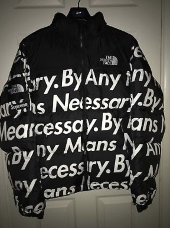 8a6f728c2 FOR SALE: REP Supreme X The North Face TNF BAMN Nuptse | Tomboys ...