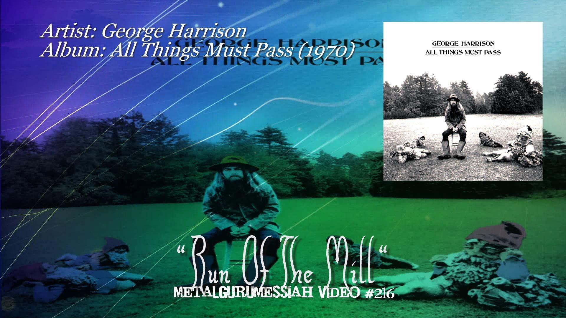 Run Of The Mill - George Harrison (1970) FLAC Remaster HD