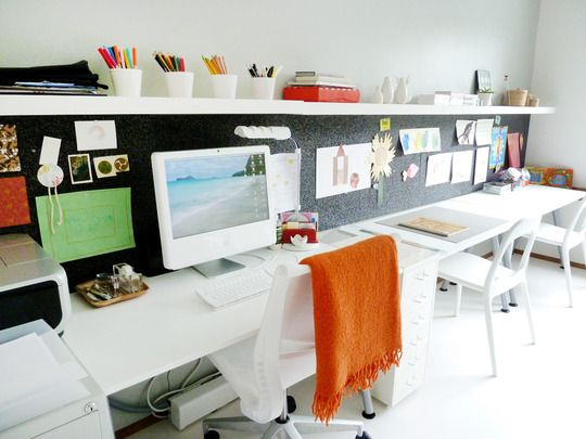 Aigus Love for Apple Desk space Office desks and Apartment therapy